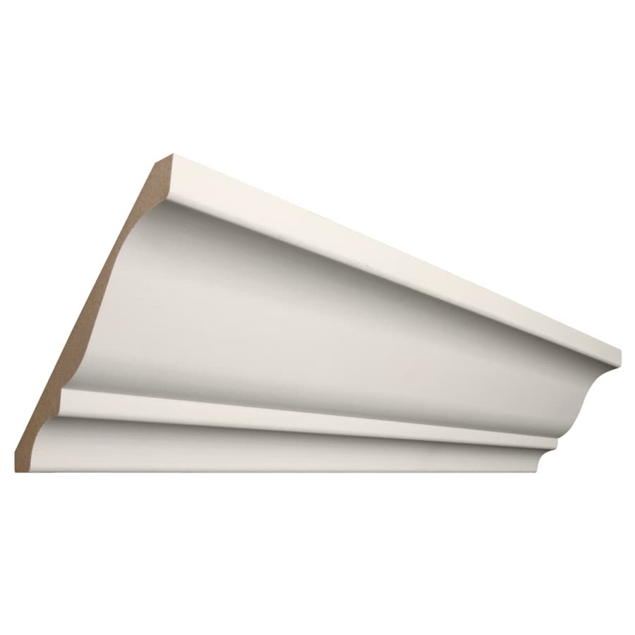 RapidFit 5.25-in x 12-ft Primed MDF Crown Moulding