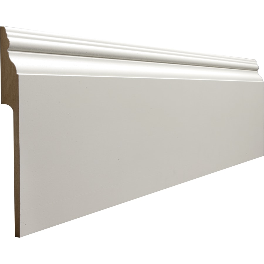 RapidFit 7.25-in x 12-ft Interior MDF Baseboard