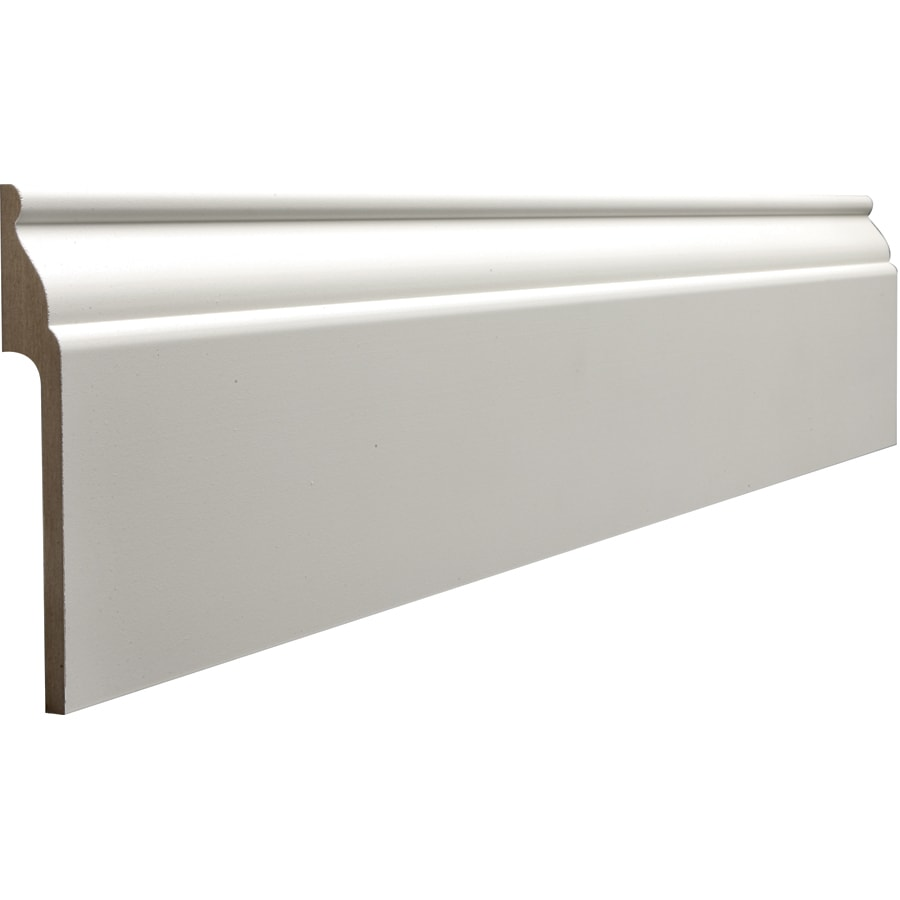 Shop Rapidfit 5 25 In X 8 Ft Interior Mdf Baseboard At