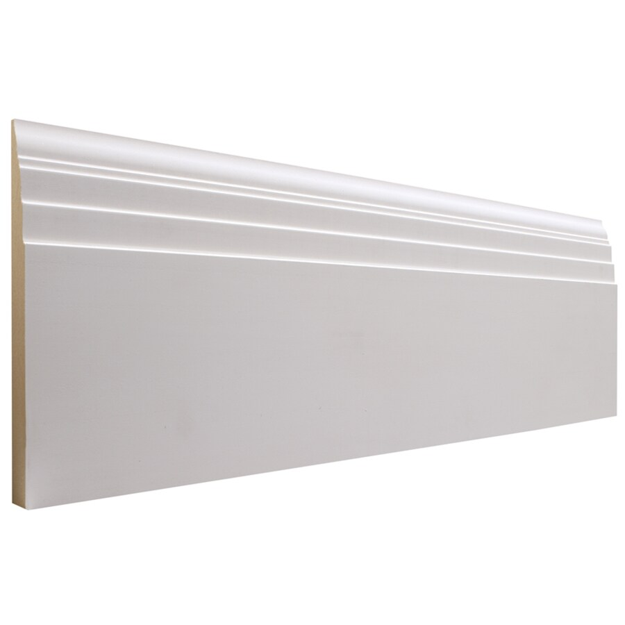 National Trust for Historic Preservation 6-in x 12-ft Interior MDF Baseboard