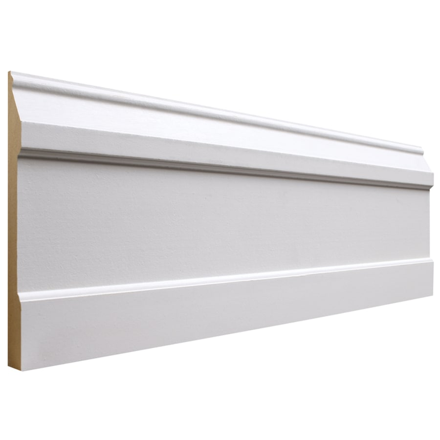 National Trust for Historic Preservation 6.5-in x 12-ft Interior MDF Baseboard