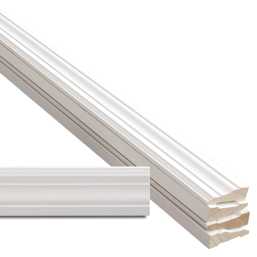 5-Pack 2.25-in x 7-ft Interior Pine Primed Finger Joint Window and Door Casing