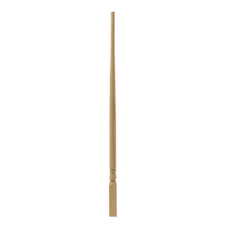 EverTrue 34-in Raw Wood Colonial Stair Baluster