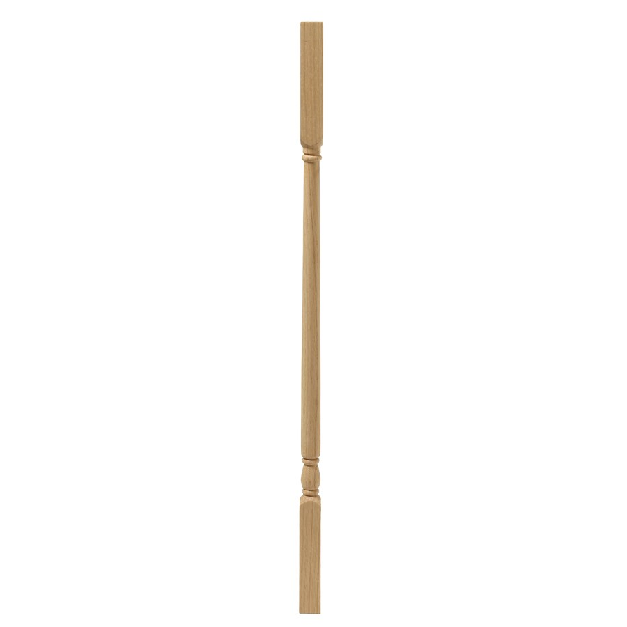 EverTrue Colonial 34-in Raw Wood Colonial Stair Baluster