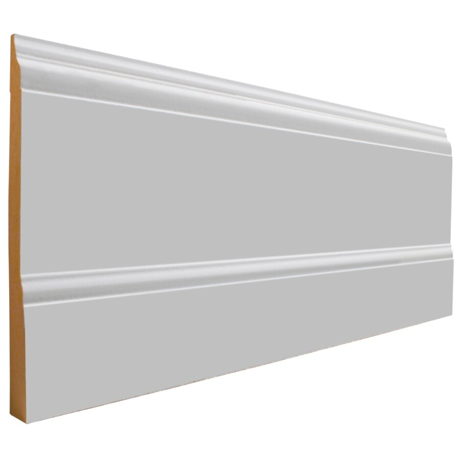 National Trust for Historic Preservation 7.5-in x 8-ft Interior MDF Baseboard