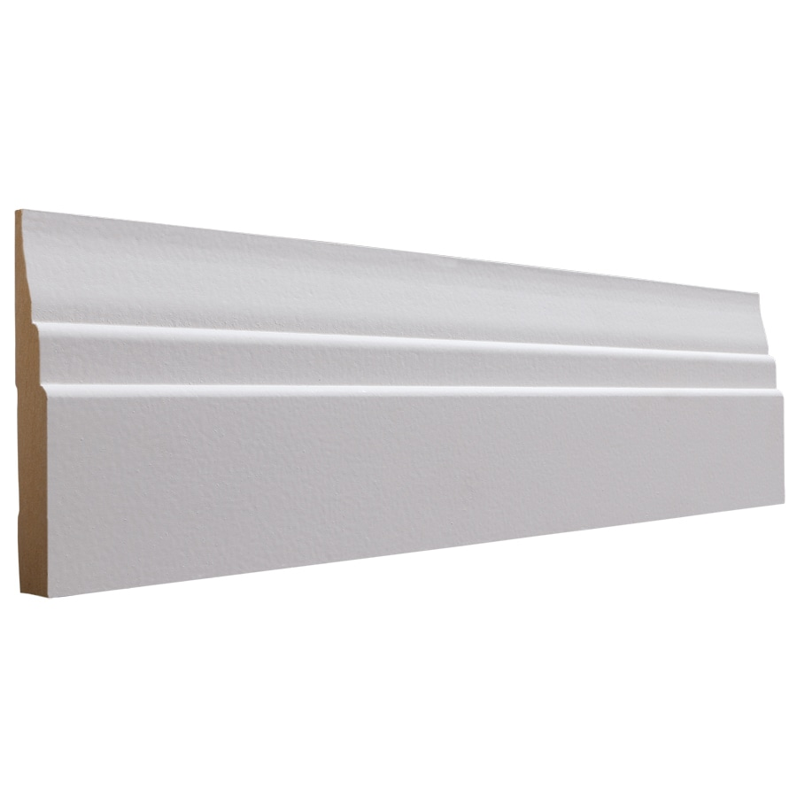 National Trust for Historic Preservation 4.5-in x 8-ft Interior MDF Baseboard