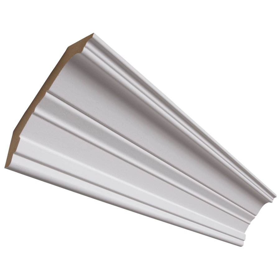 National Trust for Historic Preservation 4.25-in x 8-ft Primed MDF Crown Moulding