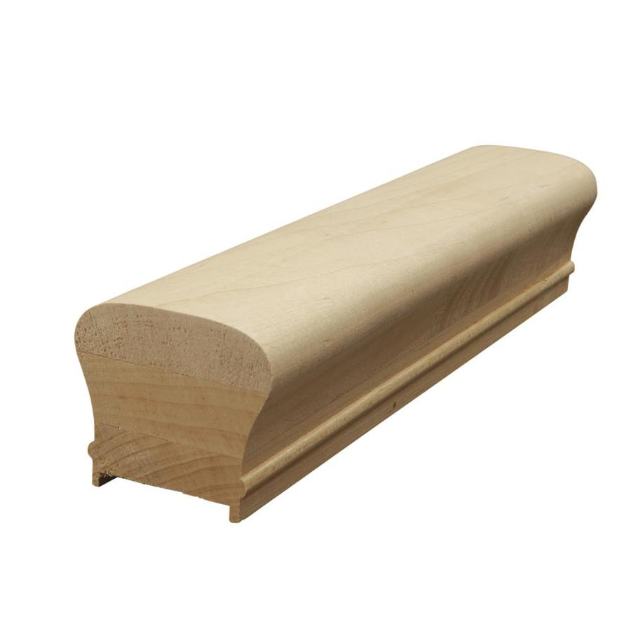 Creative Stair Parts 2.625-in x 14-ft Stain Grade Plowed Handrail