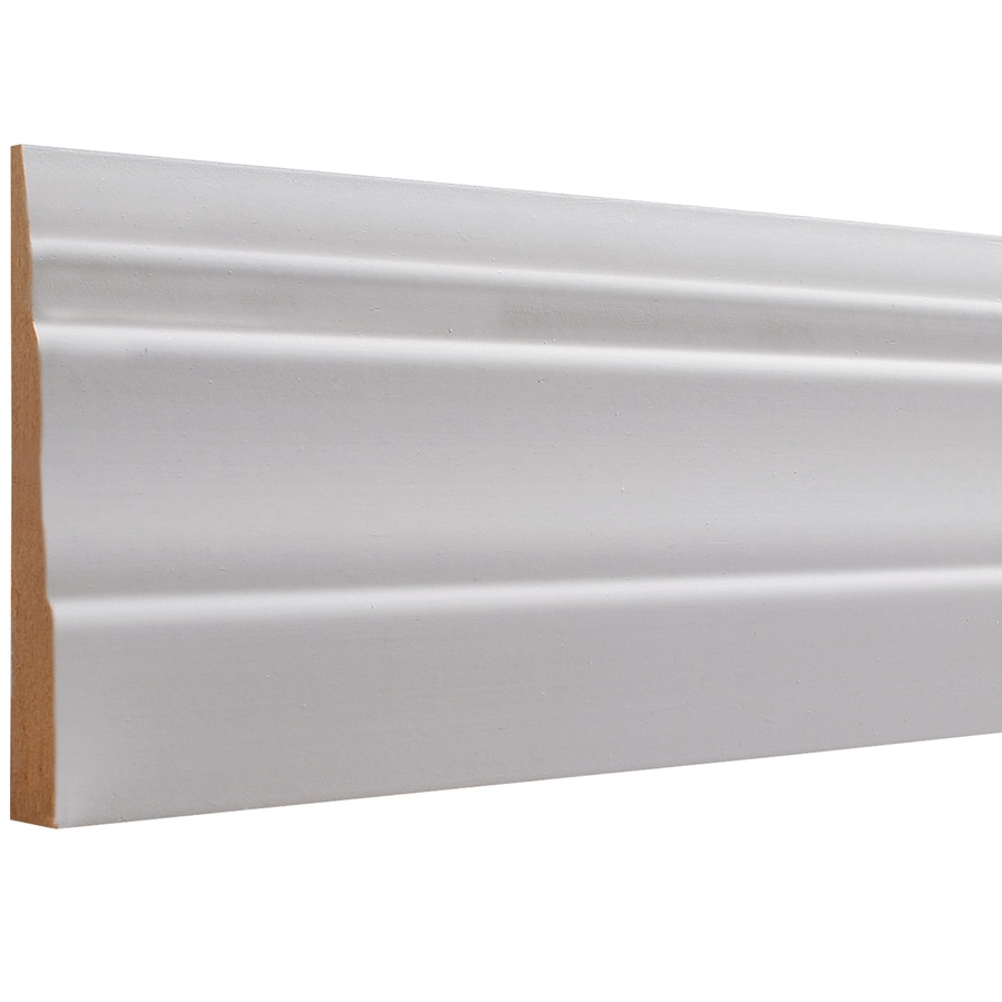 3.25-in x 12-ft Interior MF Baseboard