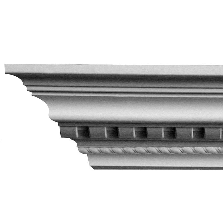 EverTrue 4.125-in x 8-ft Polystyrene Crown Moulding
