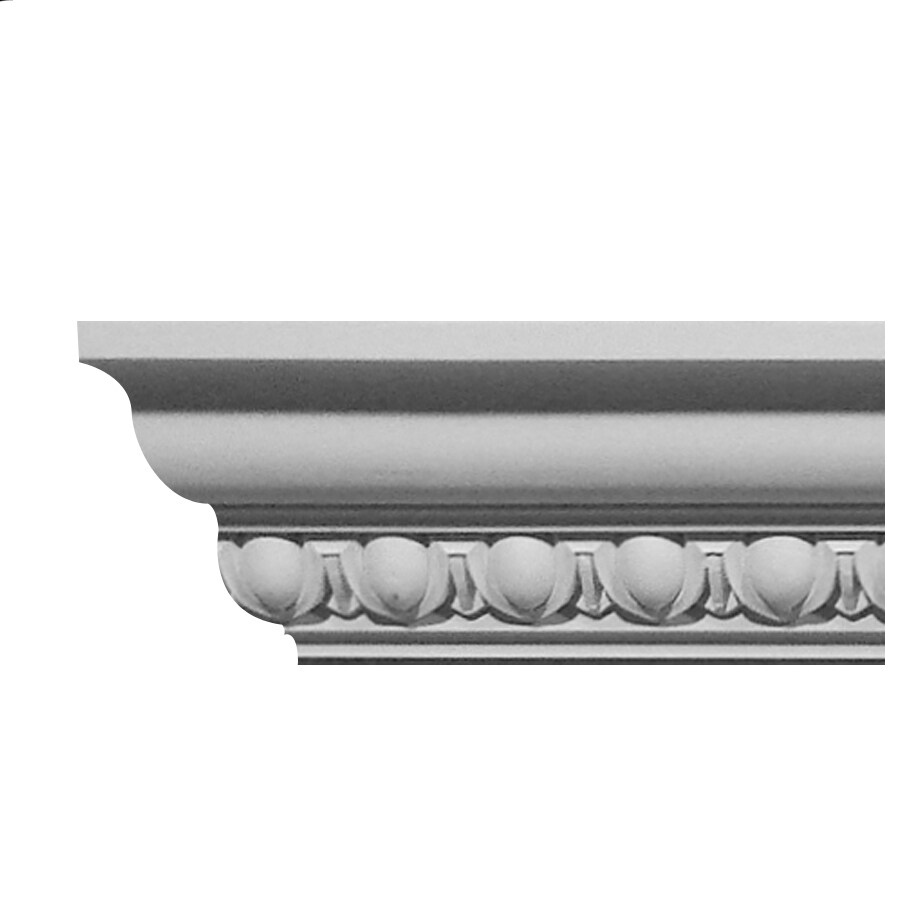 EverTrue 3.813-in x 8-ft Polystyrene Crown Moulding