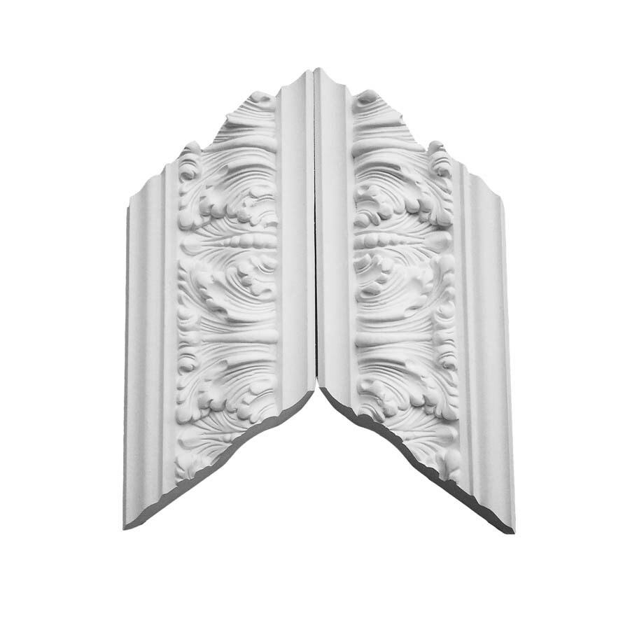 EverTrue 3.25-in x 1.03-in Primed Polyurethane Inside Corner Crown Moulding Block