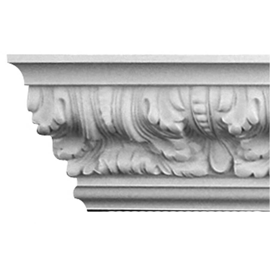 EverTrue 4.875-in x 12-ft Polystyrene Crown Moulding