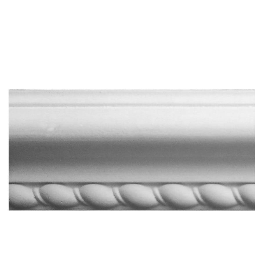 EverTrue 2.375-in x 8-ft Primed Polystyrene Rope Chair Rail Moulding