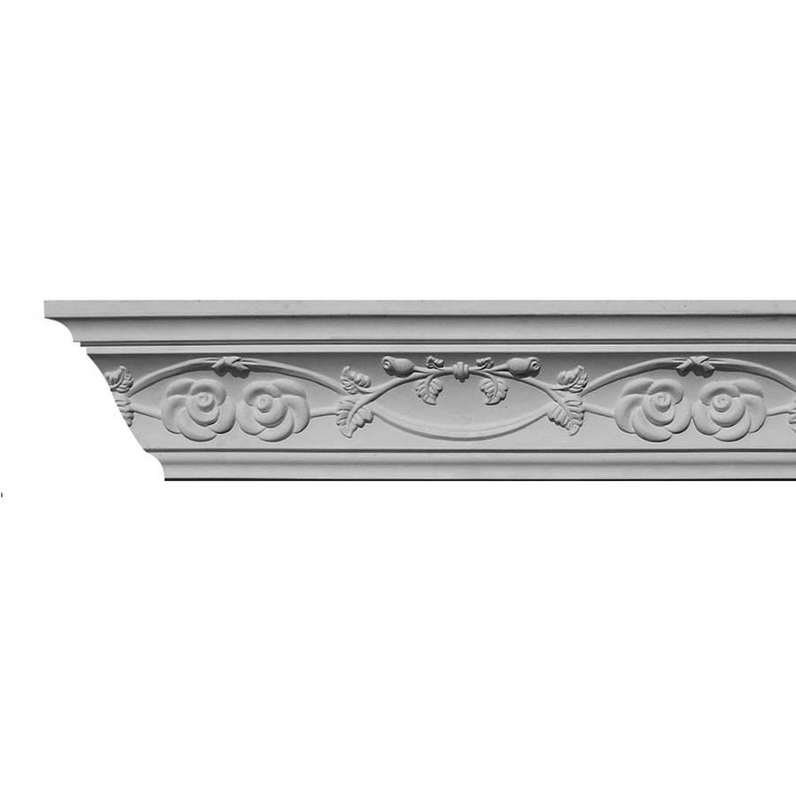 EverTrue 3.875-in x 8-ft Primed Polystyrene Crown Moulding