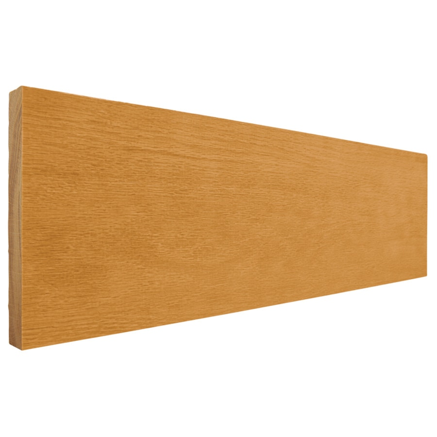(Common: 1-in x 6-in x 8-ft; Actual: 0.75-in x 5.5-in x 8-ft) Stained Oak Board