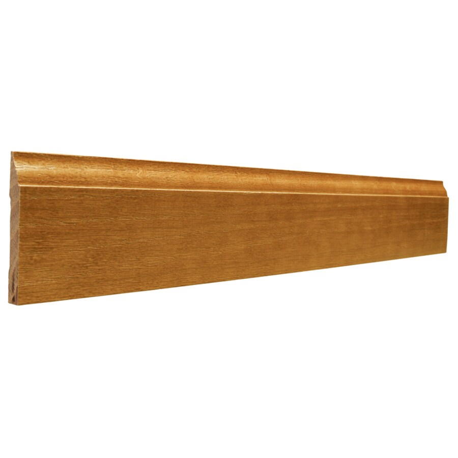 2.75-in x 12-ft Interior Oak Baseboard