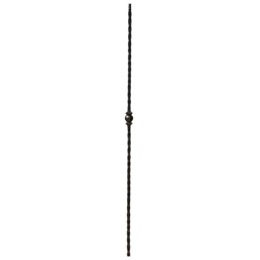 Creative Stair Parts Sphere 44-in Oil-Rubbed Bronze Wrought Iron Creative Stair Baluster