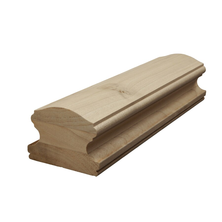 Creative Stair Parts 2.75-in x 14-ft Un-Plowed Handrail