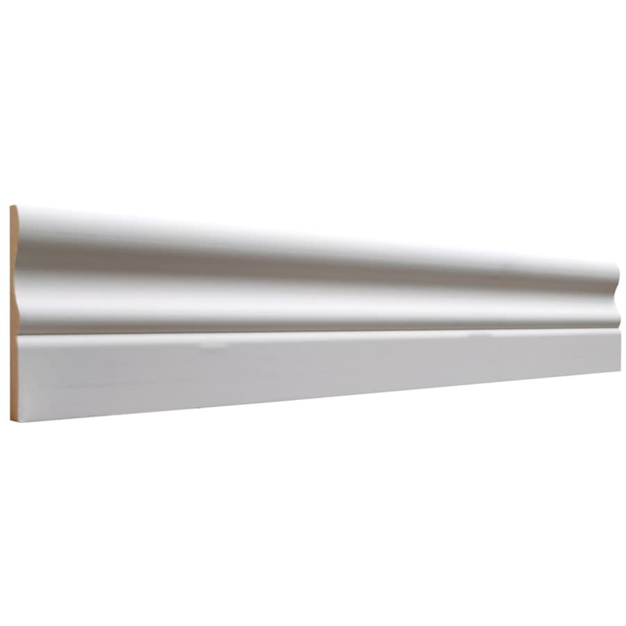 3.25-in x 12-ft Interior MDF Baseboard
