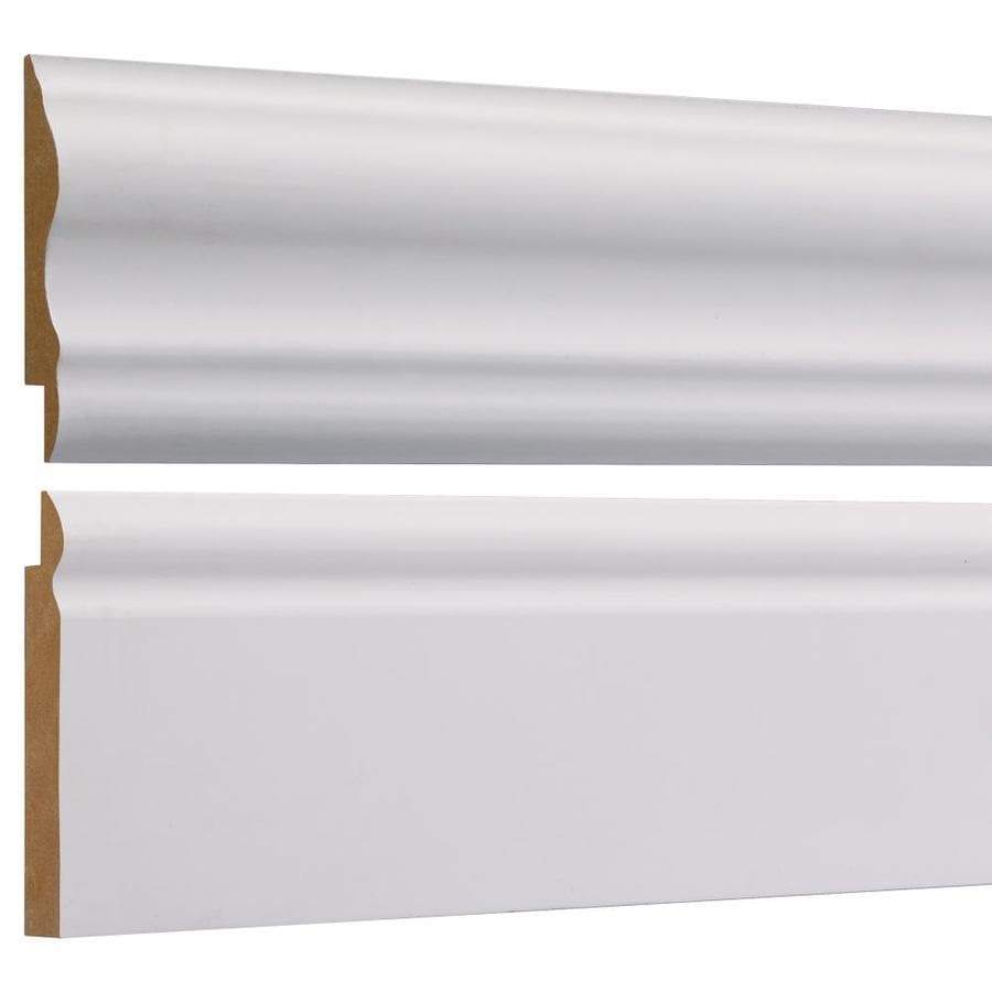Empire Company 2625 In X 8 Ft Primed Base And Chair Rail Kit Wall