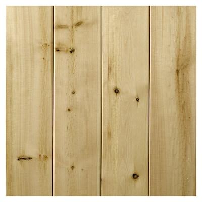 grossisthandlare fånga tankar på Empire Company 14.25-sq ft Unfinished Wood Tongue and Groove Wall ...