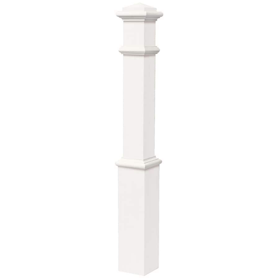 Creative Stair Parts 5.5000-in x 56-in Primed Poplar Wood Stair Newel Post