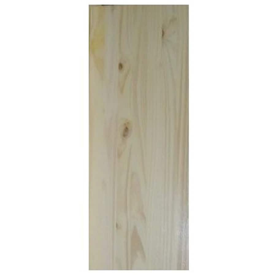 Spruce/Pine-Fir Board (Common: 3/4-in x 16-in x 8-ft; Actual: 0.75-in x 16-in x 8-ft)