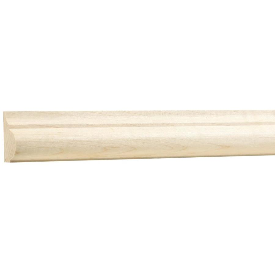 (Actual: 0.6875-in x 1.25-in x 8-ft) Maple Board