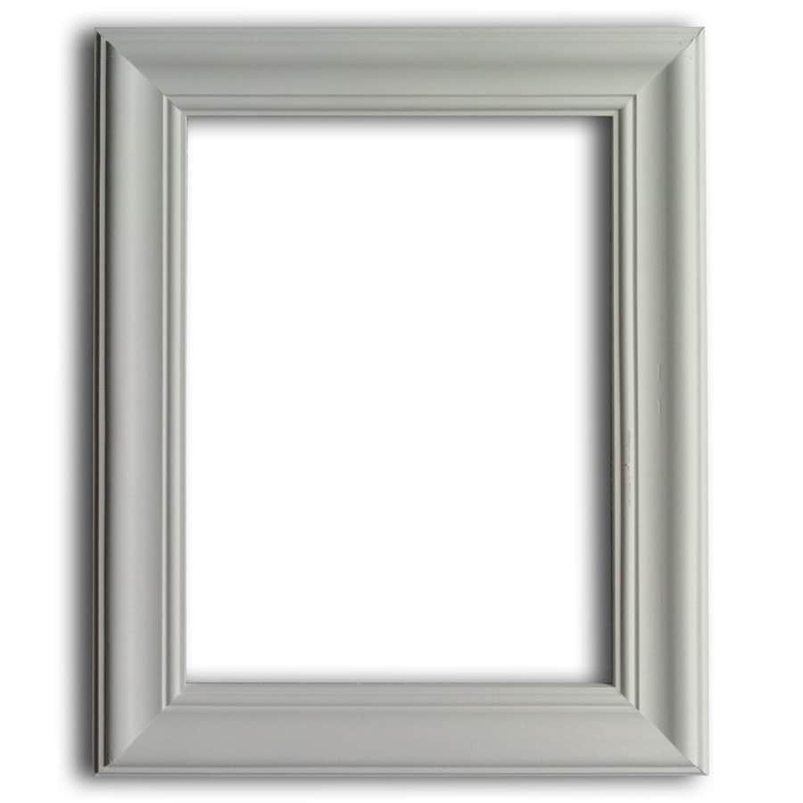 Shop 18-in x 1.92-ft Primed Polystyrene Preassembled Picture Frame ...