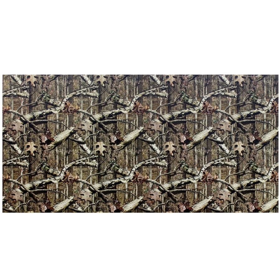 Kamo Panel Break-Up Infinity 48-in x 8-ft Softline Mossy Oak Break-Up Infinity Plastic Wall Panel