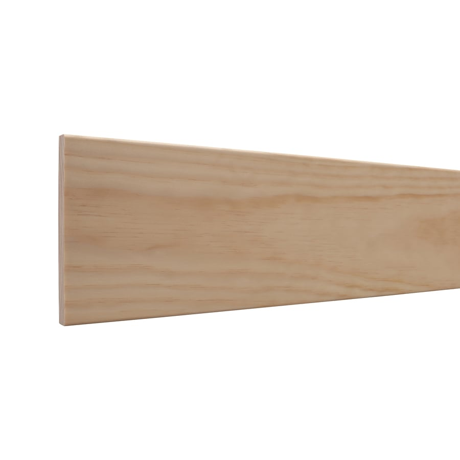 5.5-in x 12-ft Interior Pine Baseboard Moulding