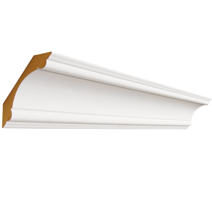 3.375-in x 8-ft Primed MDF Crown Moulding
