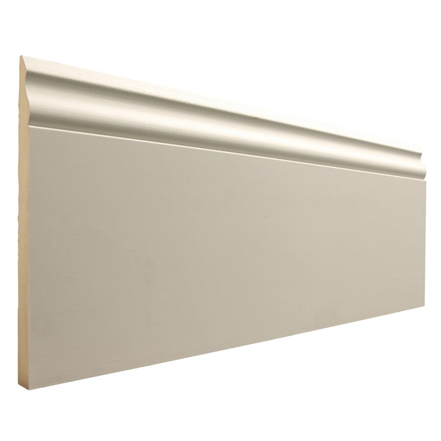 EverTrue 7.25-in x 12-ft Interior MF Baseboard