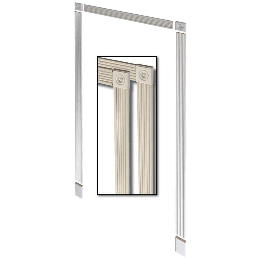 Merveilleux 3 Pack 3.375 In X 7 Ft Interior Pine Prefinished MDF Window And