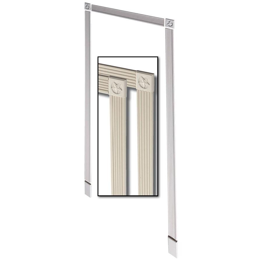 3-Pack 3.375-in x 7-ft Interior Primed MDF Window and Door Casing