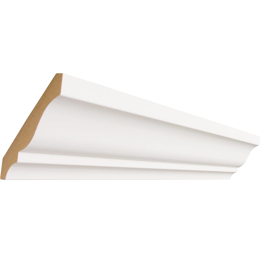 3.625-in x 12-ft Mdf Crown Moulding