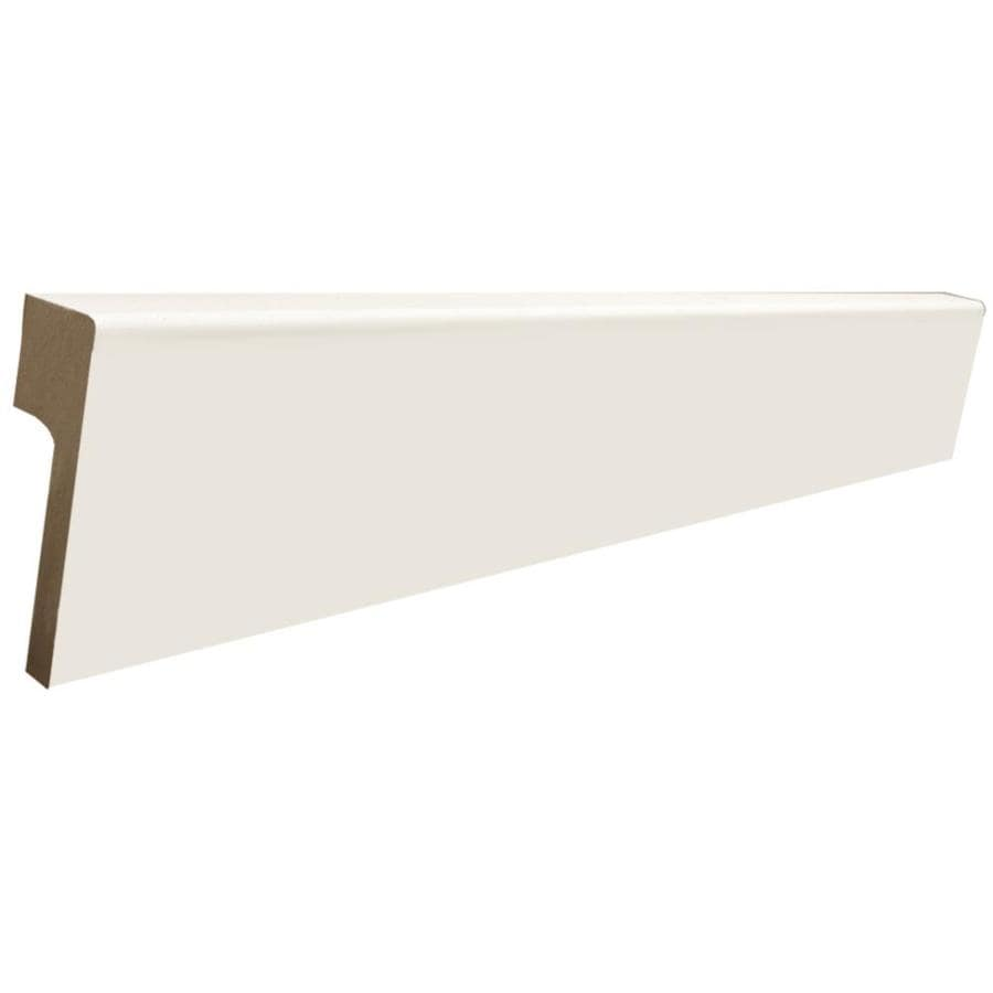 RapidFit 5.25-in x 8-ft Interior Painted MDF Baseboard Moulding
