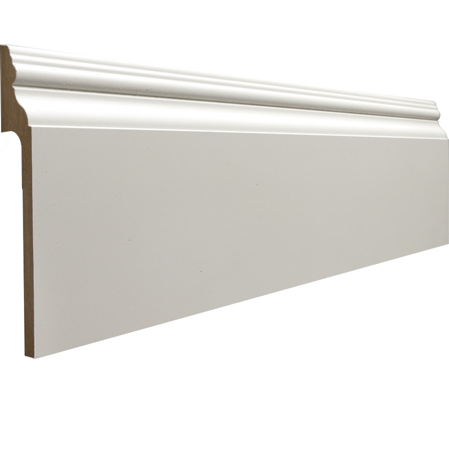 RapidFit 5.25-in x 8-ft Interior MF Baseboard