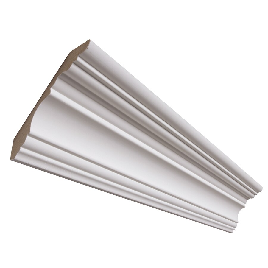 4.25-in x 12-ft Painted Crown Moulding