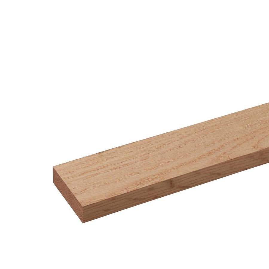 Red Oak Board (Common: 1-in x 3-in x 12-ft; Actual: 0.75-in x 2.5-in x 12-ft)