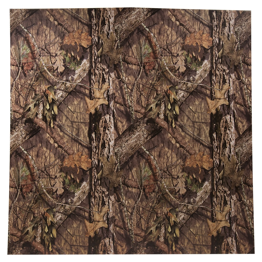 Kamo Panel Mossy Oak 48-in x 4-ft Break-Up Country Plastic Wall Panel