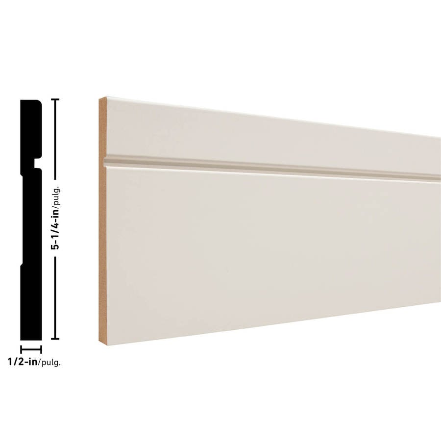 Shop Craftsman 5 25 In X 8 Ft Interior Primed Mdf