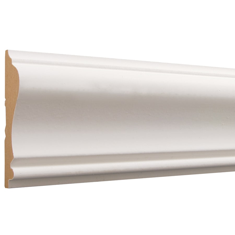 2.625-in X 12-ft Primed MDF Chair Rail Moulding At Lowes.com