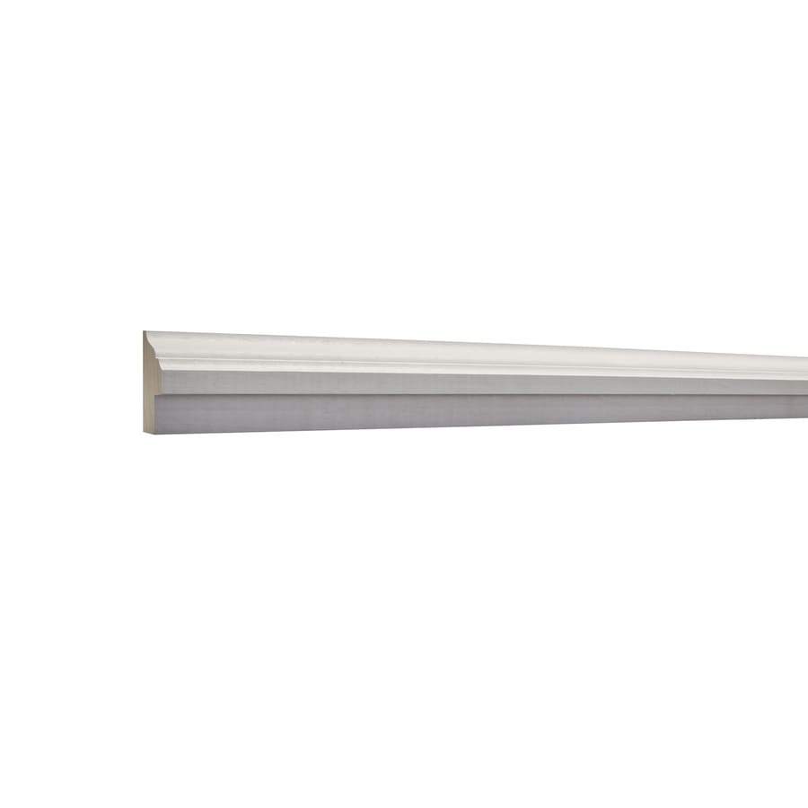2-in X 8-ft Primed MDF Chair Rail Backer Moulding At Lowes.com
