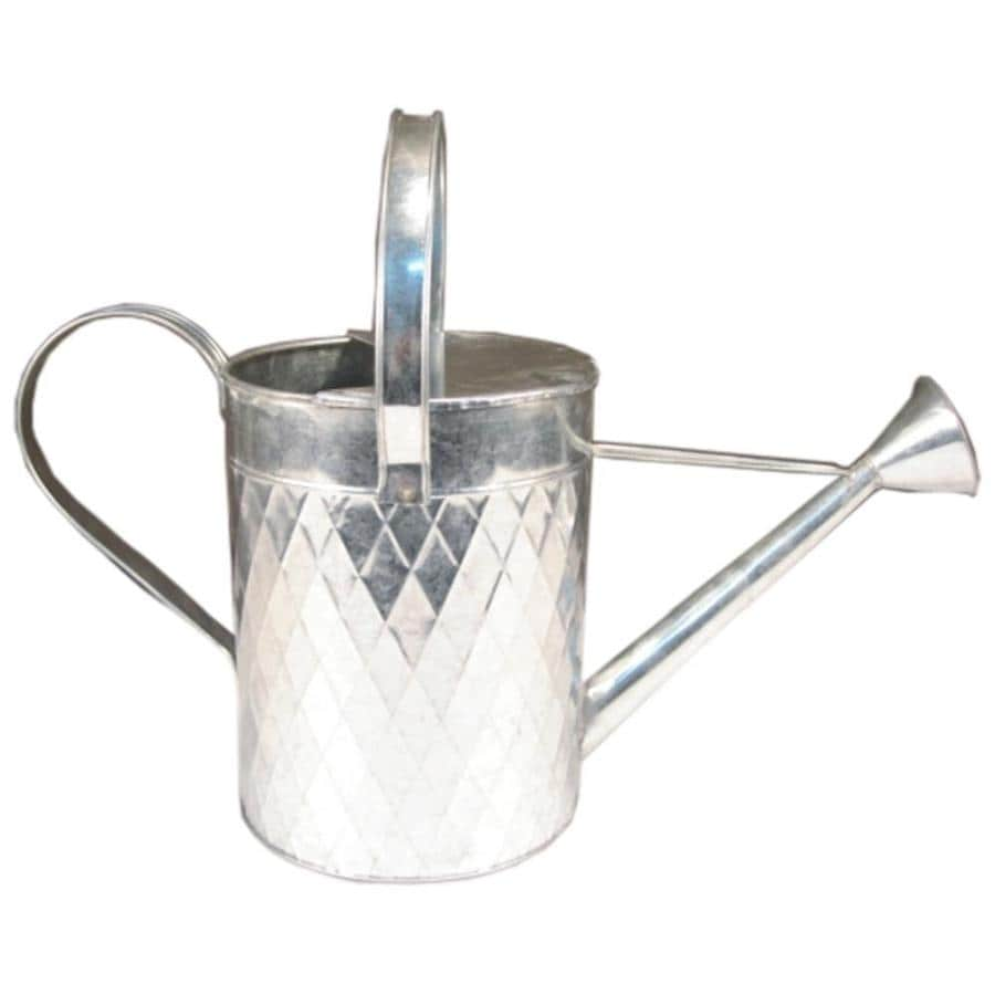 1.8-Gallon Galvanized Metal Traditional Watering Can