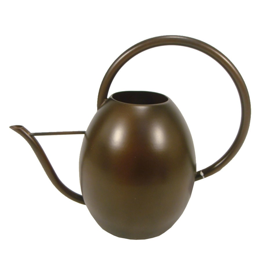 0.6-Gallon Antique Copper Metal Watering Can