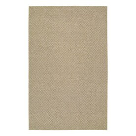 Garland Medallion 5 X 7 Tan Indoor Solid Area Rug In The Rugs Department At Lowes Com