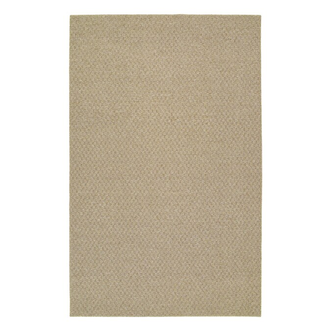 Garland Town Square 6 X 9 Tan Indoor Solid Area Rug In The Rugs Department At Lowes Com