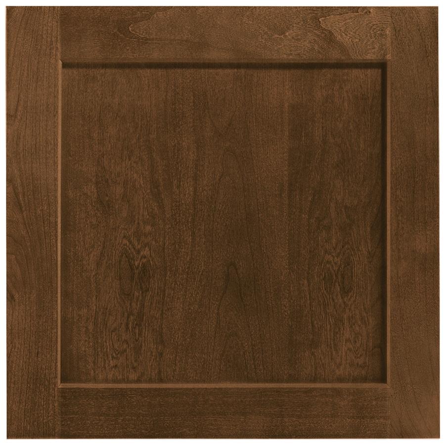 Shenandoah Breckenridge 14.5-in x 14.5625-in Spice Cherry Square Cabinet Sample